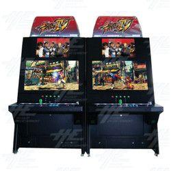 Street Fighter 4 - Back to Back Arcade Cabinet
