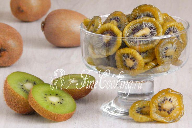 Цукаты из киви - рецепт с фото