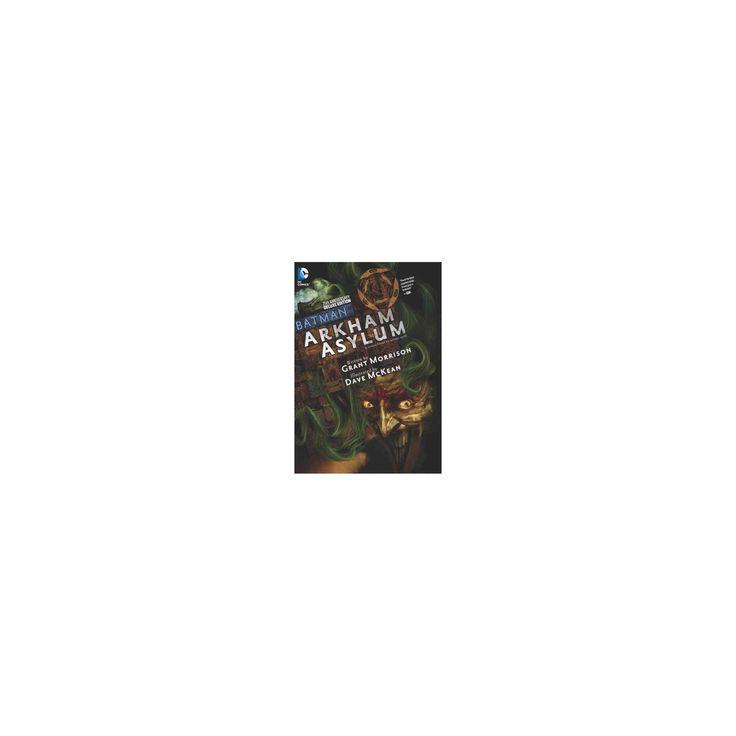 Batman Arkham Asylum (Deluxe / Anniversary) (Hardcover) (Grant Morrison)