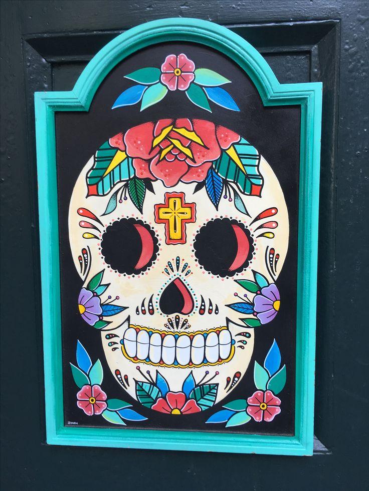 Sugar skull New Orleans
