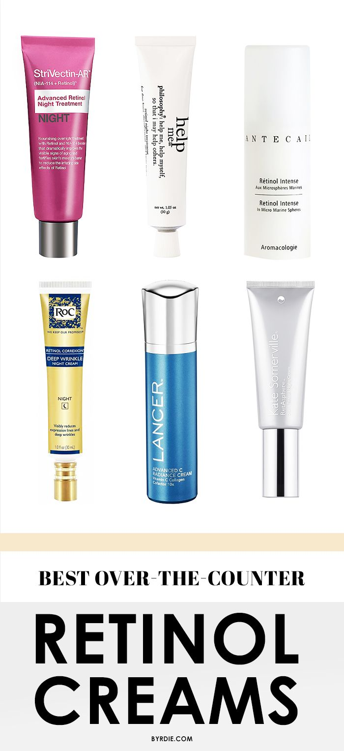 Kiss wrinkles goodbye with these killer retinol creams