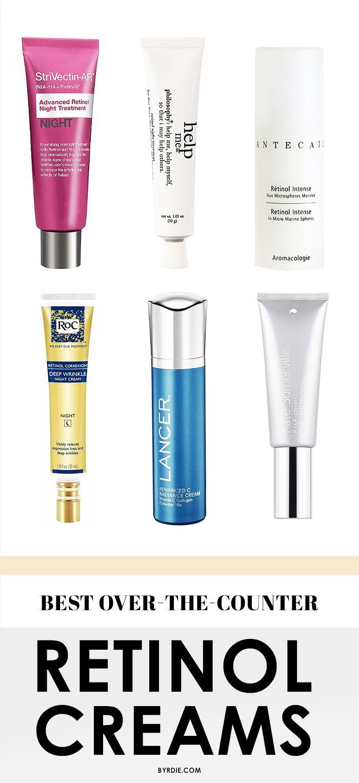 Kiss wrinkles goodbye with these killer retinol creams