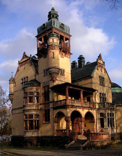 Villa Lusthusporten on Djurgården, Stockholm