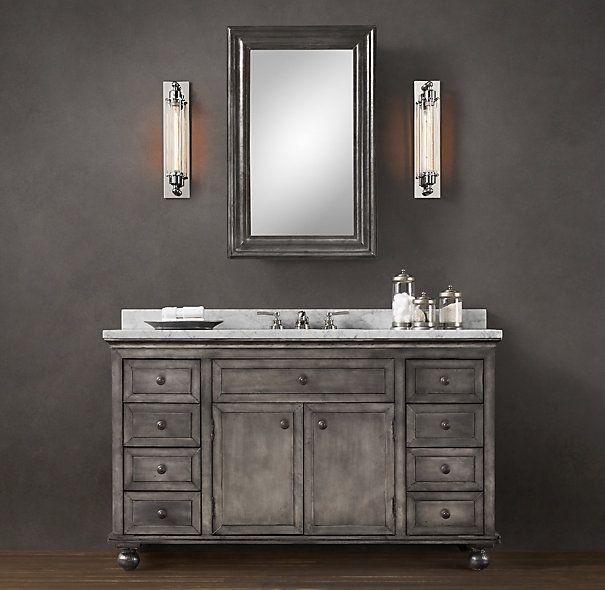 Zinc Bathroom Sinks cool vanity | reeves | pinterest | vanity sink and single vanities