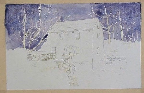 How to Paint Landscapes in Watercolour – The Old Mill