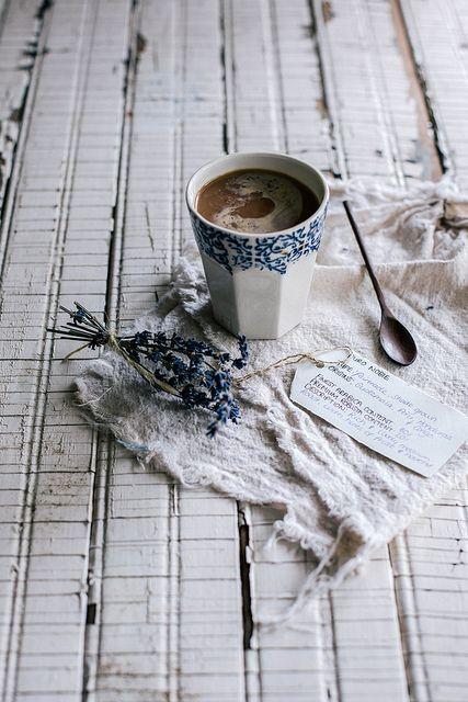 4himglory:  Puro Organic, Fair Trade Coffee by Beth Kirby   {local milk} on Flickr.