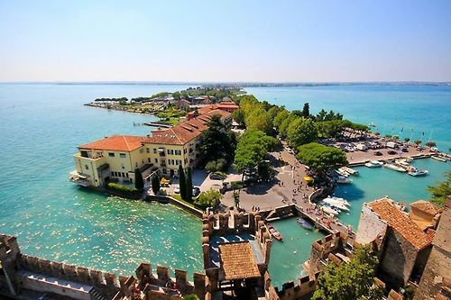 Sirmione, Brescia sitting on Lake Garda - Italy