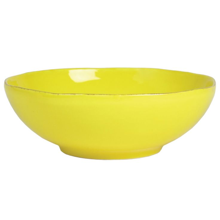 Rice Italian Tableware salatbolle gul