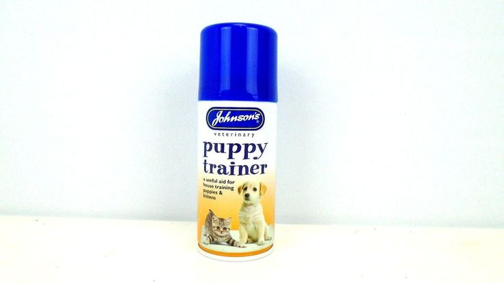 Johnson's Veterinary Puppy Trainer Spray for house training Puppies and Kittens #johnsons