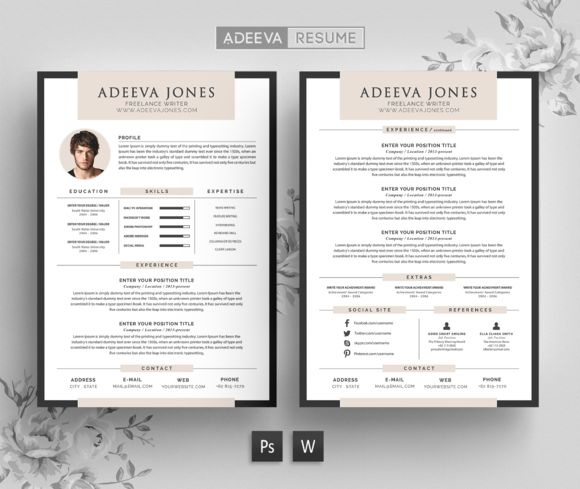 Best Professional Resume Images On   Resume Design Cv