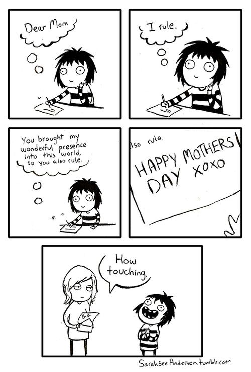 sarah see andersen - mother's day