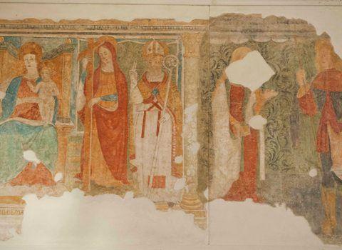 Affreschi Oratorio di San Rocco (2)