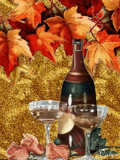 Image result for autumn gif wine