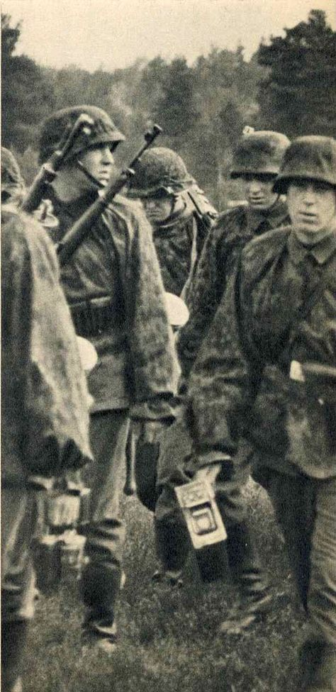 SS-Verfügungsdivision, France 1940 - pin by Paolo Marzioli