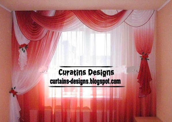 25 ideas destacadas sobre red and white curtains en pinterest
