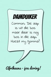 Damduiker #Afrikaans #WordDiction