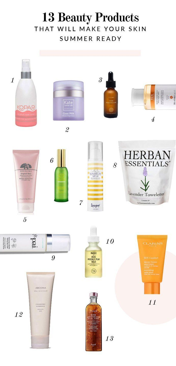 Beauty summer products 4