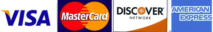 we accept credit cards for sign