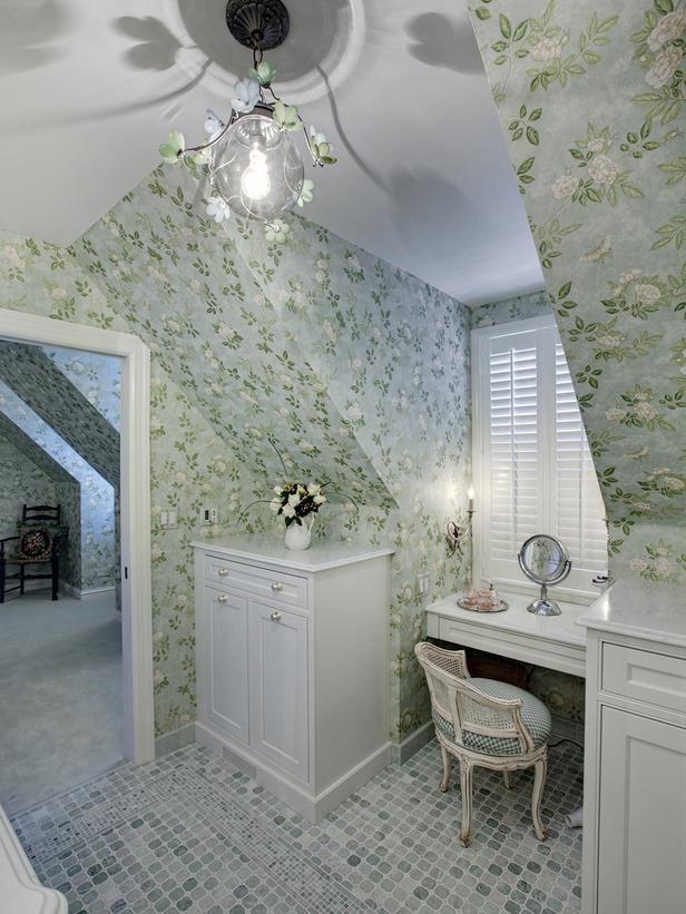 cute bathroom nook