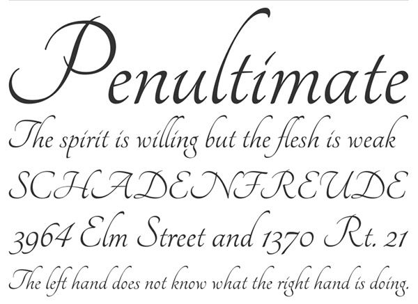 Tangerine Font Calligraphy fonts for designers: http://www.vandelaydesign.com/calligraphy-fonts/