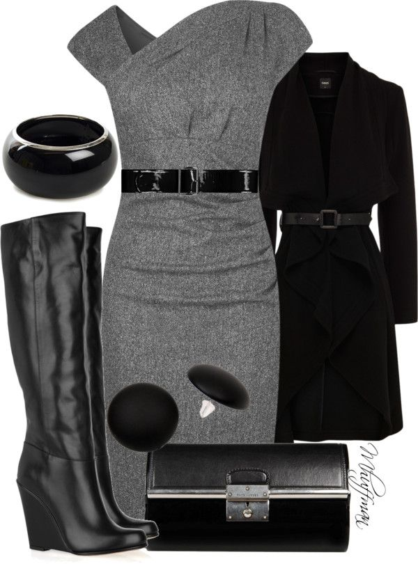 """""""Dressing Up Wedge Boots"""" by mhuffman1282 on Polyvore"""