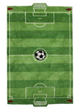 Tæppe FOOTBALL 80x125cm | JYSK