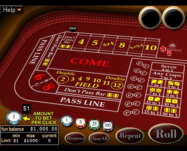 best online craps casino start games casino