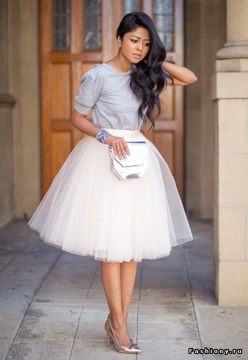 Платье пышная юбка низ