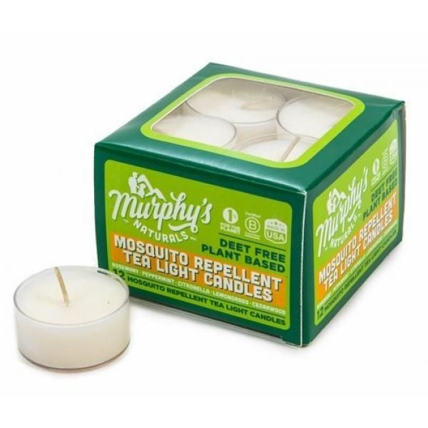 Buy Murphys Naturals Mosquito Repellent Tea Light Candles 12 Pack Online At Lazada Discount Prices Tea Lights Tea Light Candles Natural Mosquito Repellant