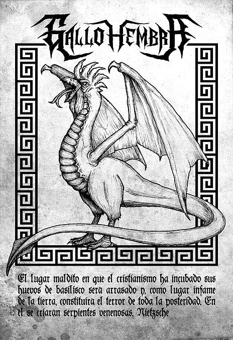 Ilustración tradicional, tinta sobre papel y edición digital.