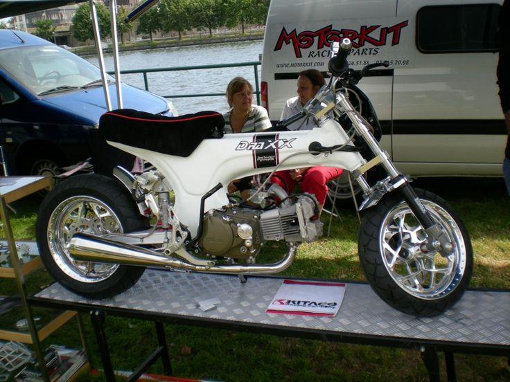Honda Dealers In Ct >> Best CT70 underside exhaust? | Motos