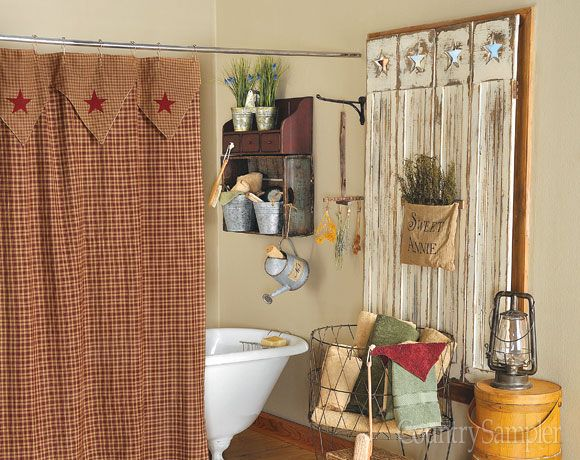 Country Bathroom Decor: 11 Best Bathroom Decorating Images On Pinterest