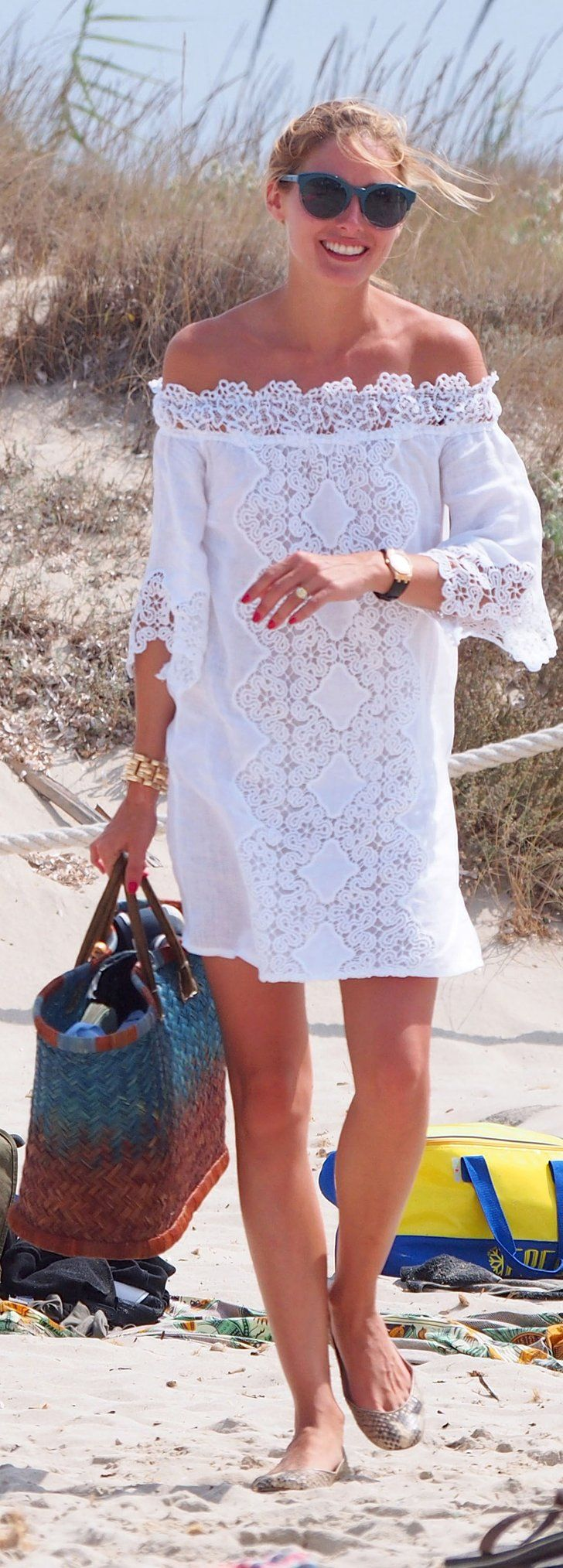 Olivia Palermo Just Pulled the Smartest Styling Trick on the Beach