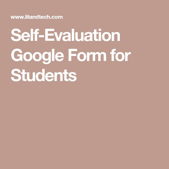 Best 25+ Student self evaluation ideas on Pinterest Parent - peer evaluation form sample