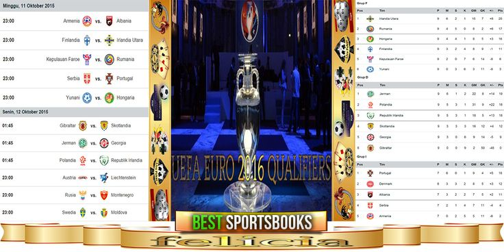 By : Felicia | Kualifikasi Piala Europa 2016 |  Gmail : ag.dewibet@gmail.com YM : ag.dewibet@yahoo.com Line : dewibola88 BB : 2B261360 Path : dewibola88 Wechat : dewi_bet Instagram : dewibola88 Pinterest : dewibola88 Twitter : dewibola88 WhatsApp : dewibola88 Google+ : DEWIBET BBM Channel : C002DE376 Flickr : felicia.lim Tumblr : felicia.lim Facebook : dewibola88