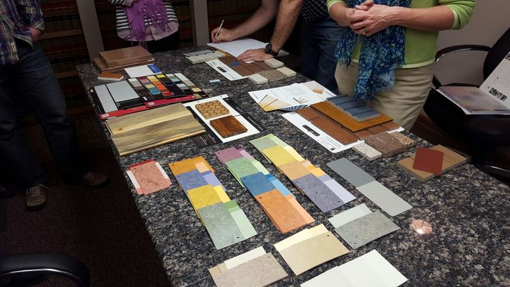 Picking interior colors for the new Empress! #fillthehole #empresson