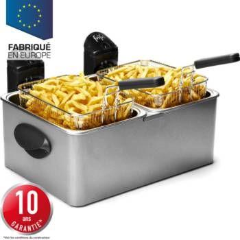 Friteuse Plus de 1,5 kg FRIFRI FI.1998 2 bacs, sur boulanger.fr
