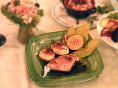 Dalla campagna toscana. La ricetta del coniglio con le mele