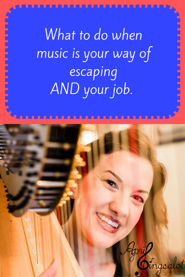 When music is your happy place and also your job...how do you unwind?