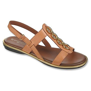 Womens Sandals Naturalizer Harrison Sea Coral Leather