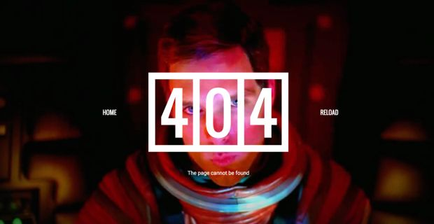 40 Quirky & Humorous 404 Error Pages - UltraLinx