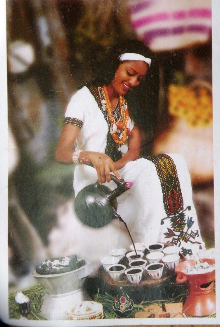 ethiopian coffee ceremony - Google Search
