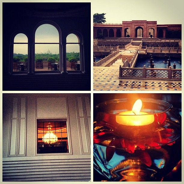 Facets behind the facade! At The Oberoi Amarvilas, Agra (courtesy @mhoski)