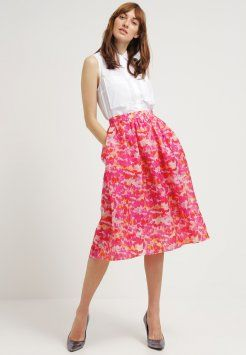 Whistles - Gonna a pieghe - pink multi