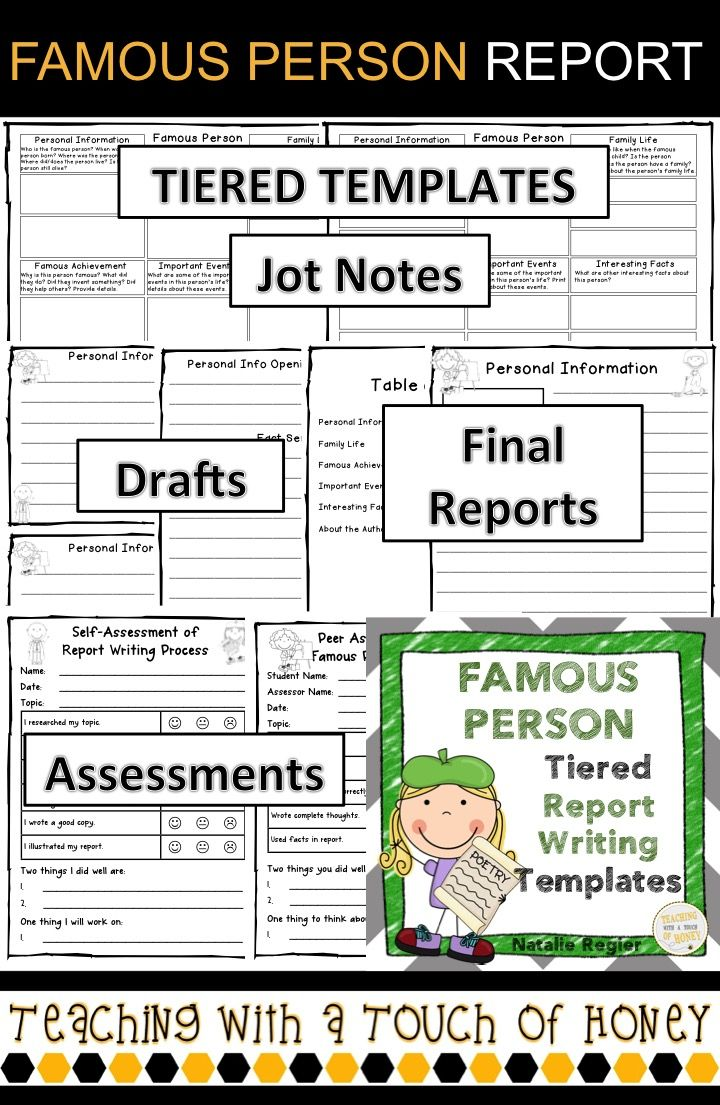 report writing primary