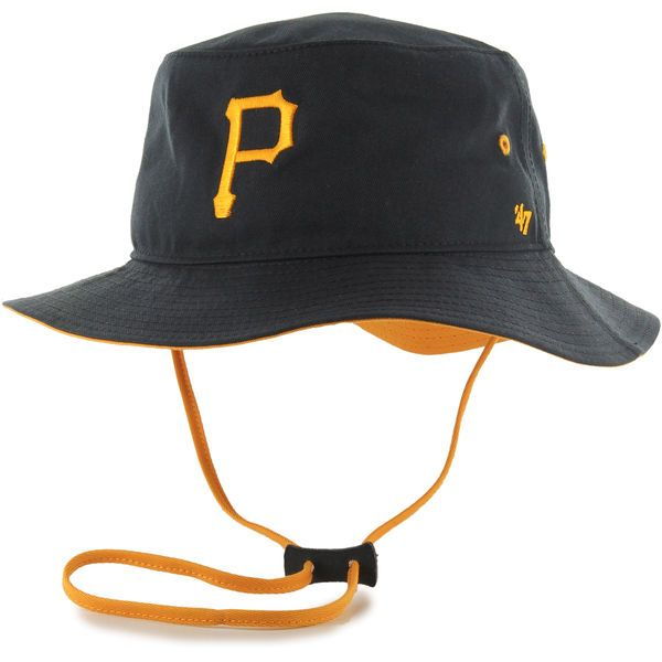 Pittsburgh Pirates '47 Kirby Bucket Hat - Black - $27.99