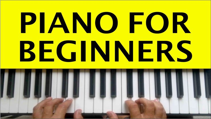 Piano Lessons for Beginners Lesson 1 How to Play Piano Easy Free Online ...