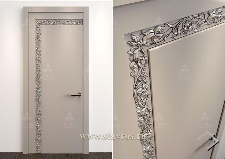 Резная дверь GRD-052 - Фото - Ставрос