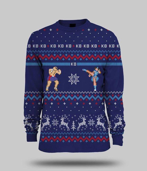 Street Fighter Sweater
