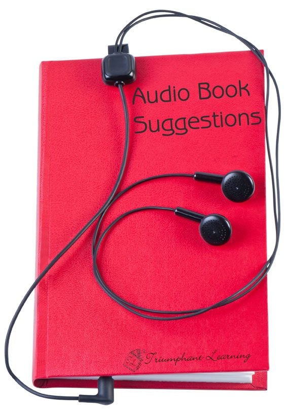 So many books, so little time. I am thankful for audio books so we can listen to a good story when I cannot sit down to read. www.triumphantlearning.com